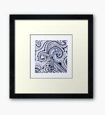 Swirlydoo Framed Print