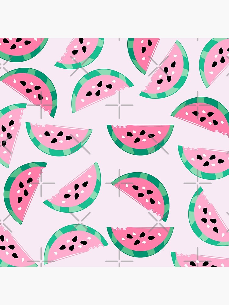 Watermelon Vibrant and Pastel Pattern by underwatercity