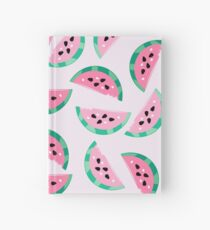 Watermelon Vibrant and Pastel Pattern Hardcover Journal
