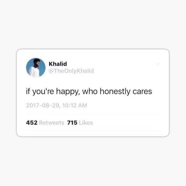 Who Cares Sticker