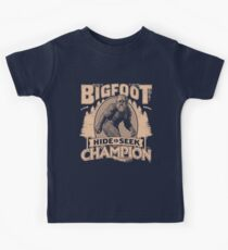 Bigfoot - Hide & Seek Champion Kids Tee