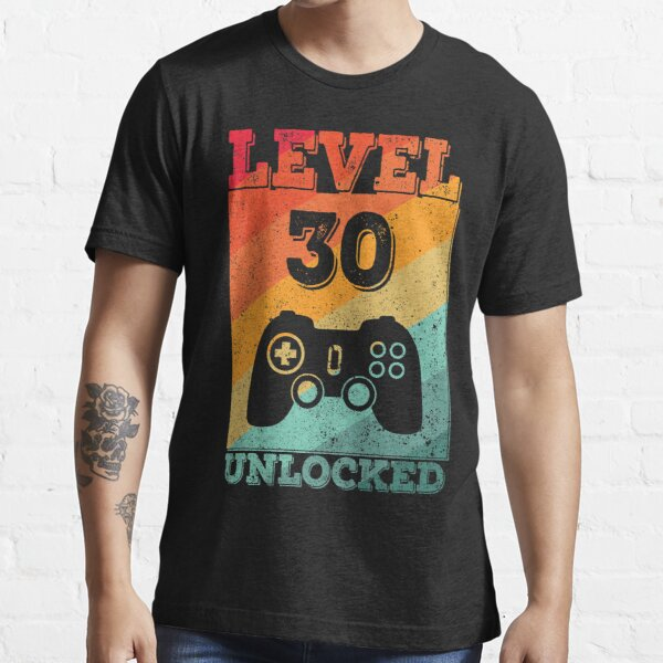 30th Gamer birthday T Shirt gamer gift//gift for him//men//birthday//present//games