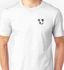 American Bulldog Pit Bull Line Art Unisex T-Shirt