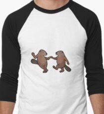 Do-Si-Do Beavers Men's Baseball ¾ T-Shirt