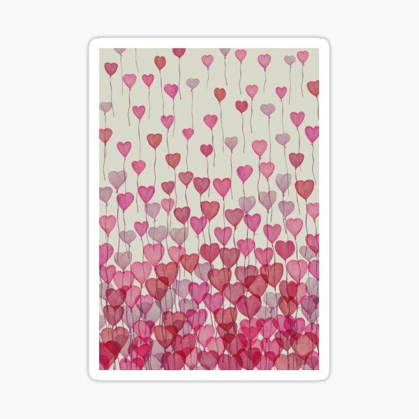 Balloon Hearts Sticker