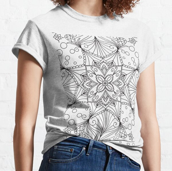 Colouring Pages T Shirts Redbubble