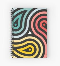 3 Fish in a Pond Spiral Notebook
