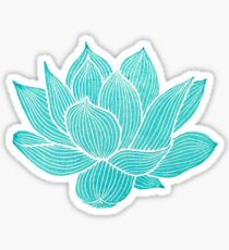 Blue lotus Sticker