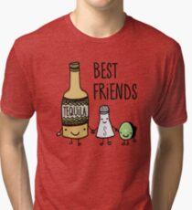 Tequila - Best Friends Tri-blend T-Shirt