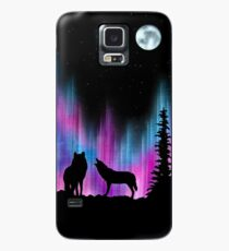 Aurora Wolves 1 by Leslie Berg Case/Skin for Samsung Galaxy