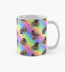Taza Rainbow Jumping Spider Tiles