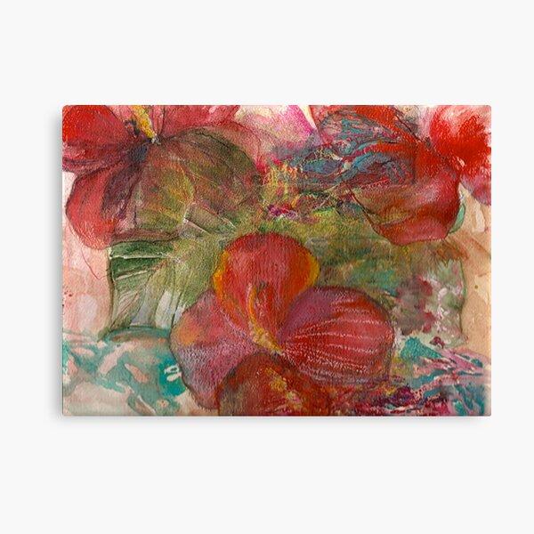 hibiscus eden Canvas Print