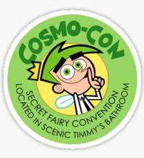 Cosmo Con Sticker