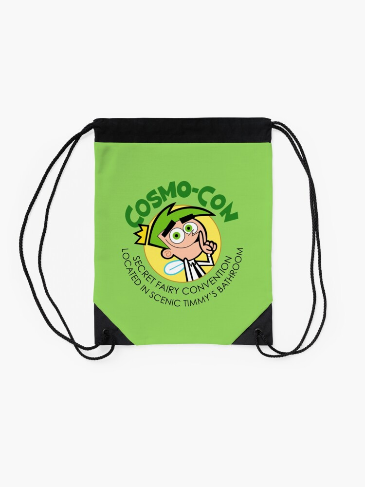 Alternate view of Cosmo Con Drawstring Bag
