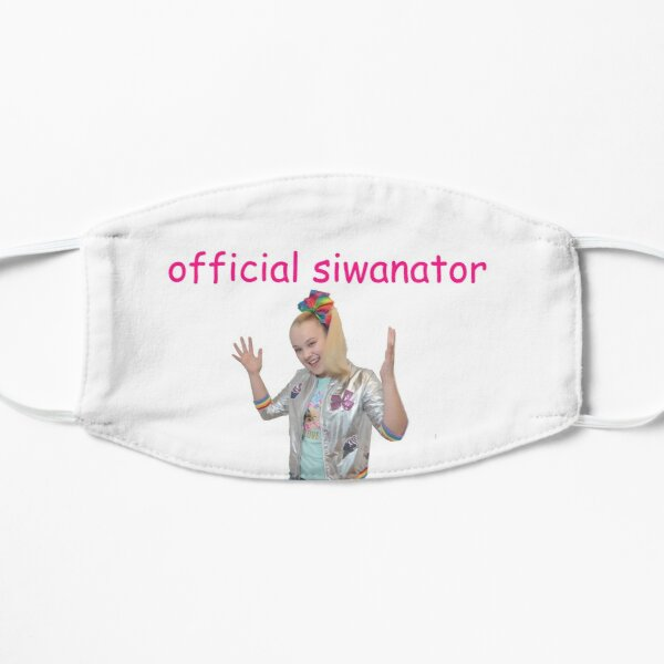 Official Siwanator Badge Flat Mask