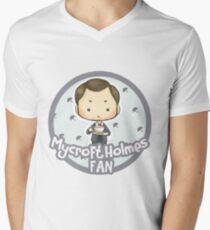 mycroft holmes Men's V-Neck T-Shirt