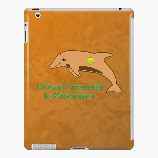 I Played Crazy Golf in Pittenweem by Moti for the West Braes Project iPad Snap Case