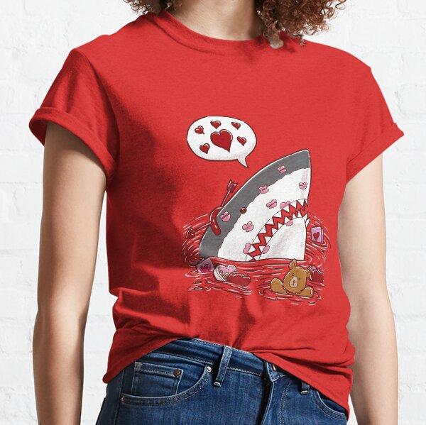 Valentine's Day Shark Classic T-Shirt