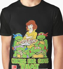 Chicks Dig Guys That Eat Out Graphic T-Shirt