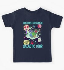 Goodbye Moonmen Galactic tour Rick Collage Kids Clothes