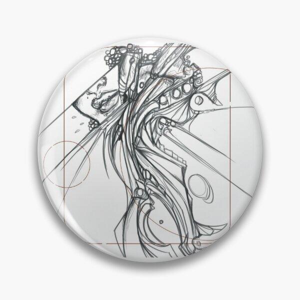 333 Original Art by Soulful Artist Pin