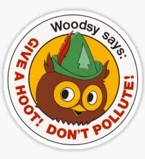 Give a Hoot!  Sticker