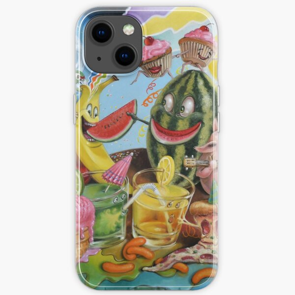 Don't Poop On My Party! iPhone Soft Case