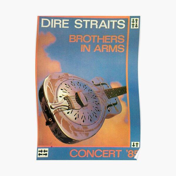 Dire Straits en concert 1985 Poster