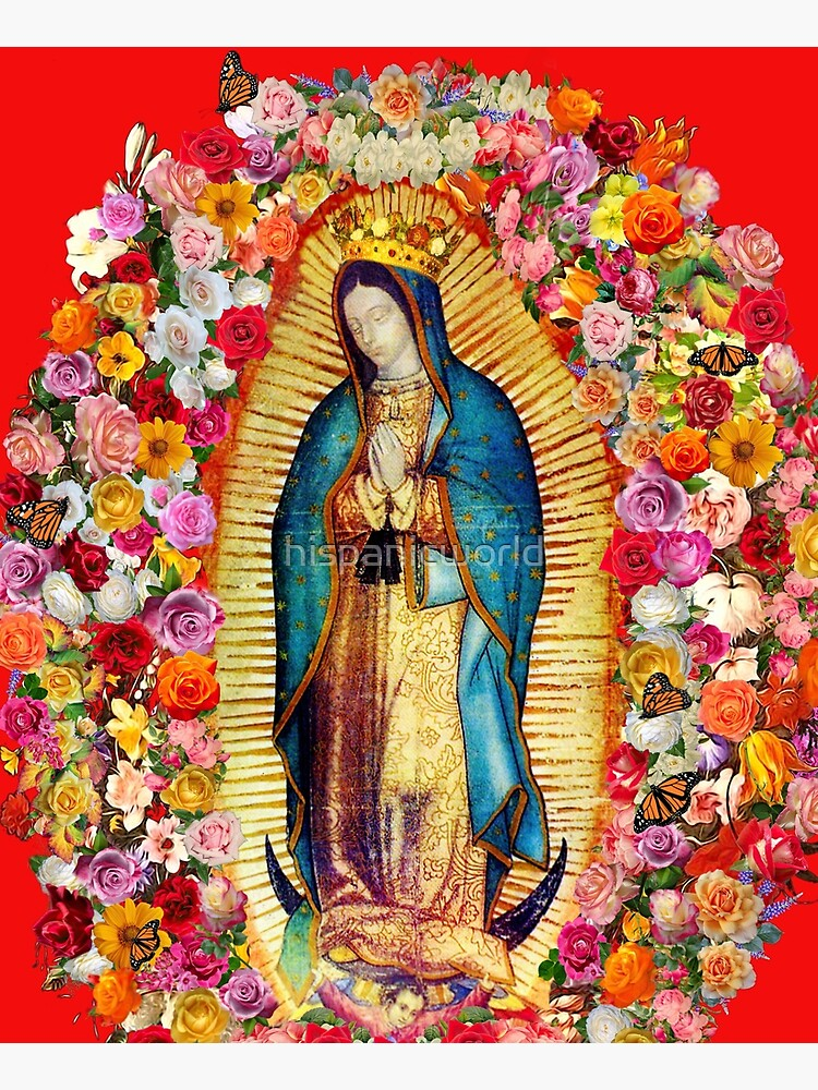 Our Lady of Guadalupe Mexican Virgin Mary Saint Mexico Catholic Mask by hispanicworld
