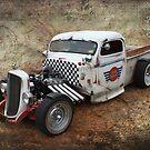 Rat Rod Pickup by Keith Hawley