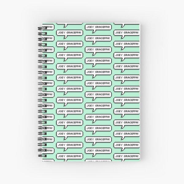 joey graceffa! Spiral Notebook
