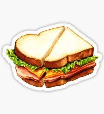 Ham Sandwich Pattern Sticker