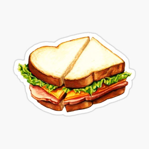 Ham Sandwich Pattern Sticker