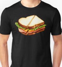 Ham Sandwich Pattern T-Shirt