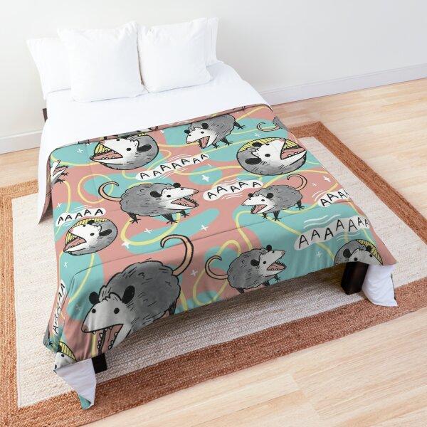 Opossum Screm Comforter