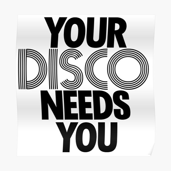 Kylie Minogue - Your Disco Needs You Poster