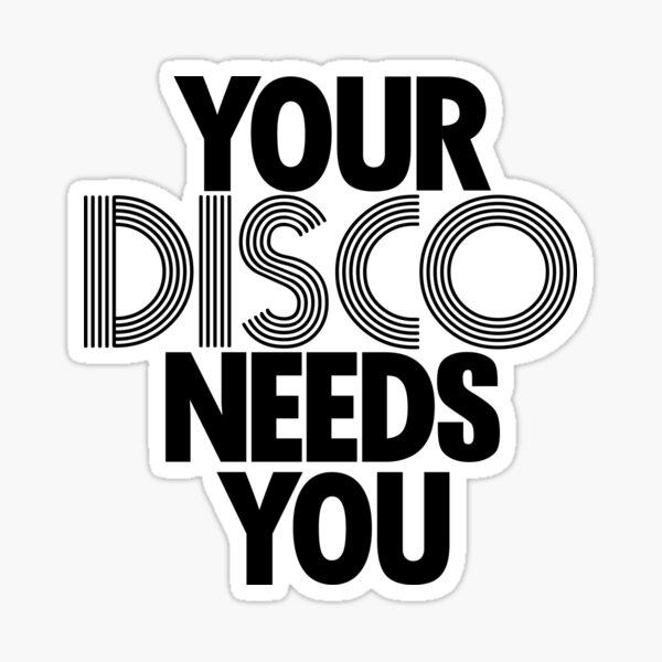 Kylie Minogue - Your Disco Needs You Sticker