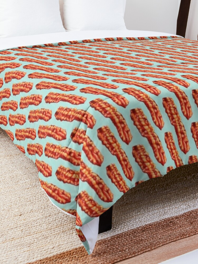 Alternate view of Bacon Pattern Comforter