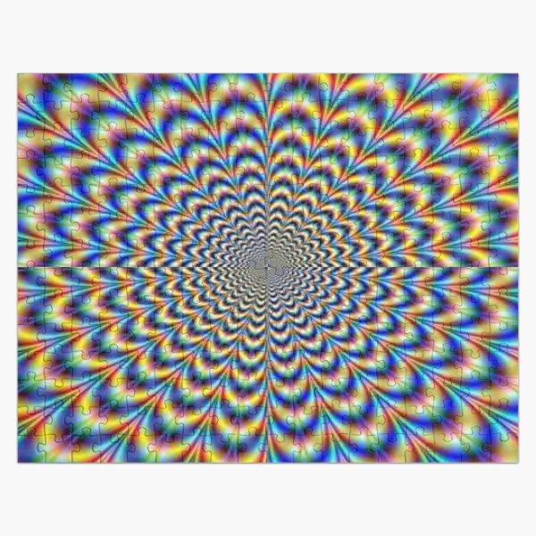 Optical illusion trip, optical art Jigsaw Puzzle
