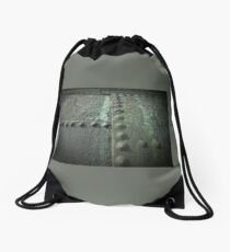 Rivets N Rust Drawstring Bag