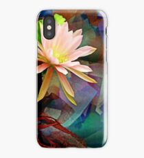 Coral Mist In A Copper Breeze iPhone Case