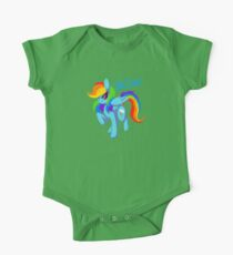 "Rainbow Dash ""Gotta dash!"" One Piece - Short Sleeve"