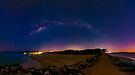 Milky Way over Noosa Heads by Sam Frysteen