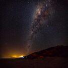 Milky Way over Noosa North Shore by Sam Frysteen