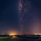 Milky Way over Lake Weyba by Sam Frysteen