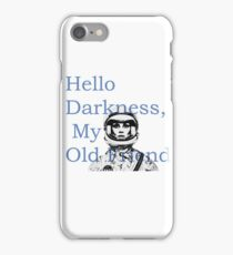 The Terrible Silence iPhone Case/Skin