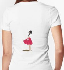 Girl 2 Women's Fitted V-Neck T-Shirt