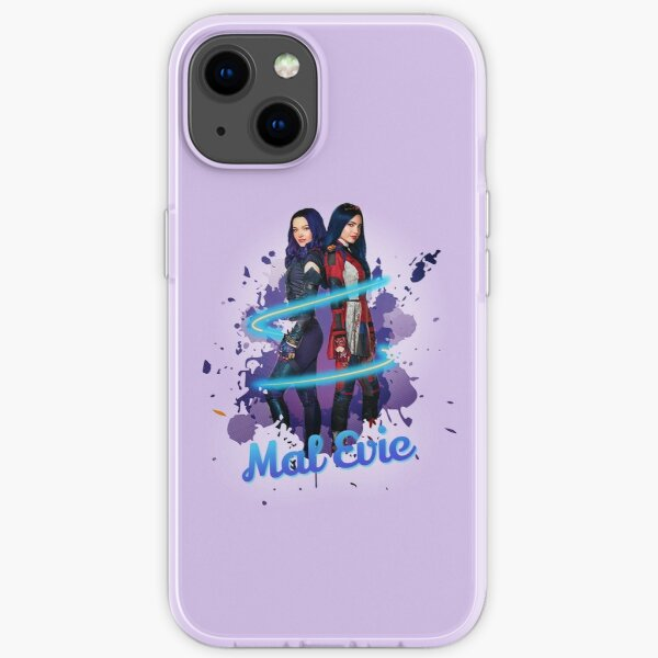 Mal and Evie Forever - Descendants 3 iPhone Soft Case