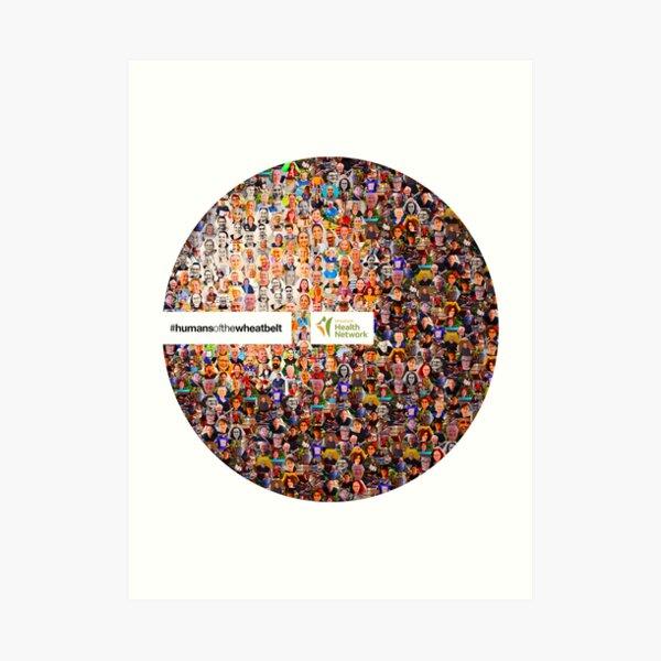 #humansofthewheatbelt 2021 Art Print