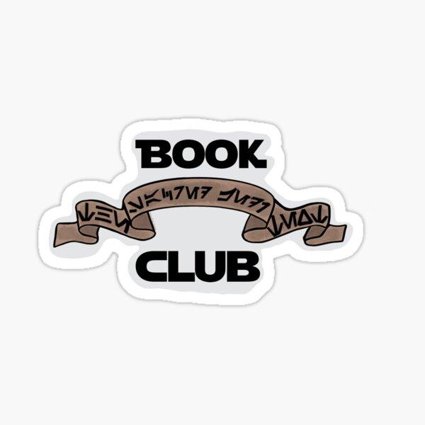 Space Girls Book Club  Sticker